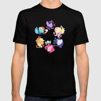 Mane Six Mens Fitted Tee Black SMALL