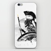 Oboe Warrior iPhone & iPod Skin