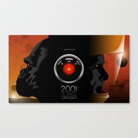 2001 - A space odyssey Canvas Print