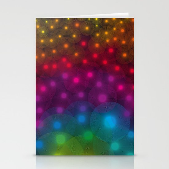 SF Dandelion Rainbow Stationery Card