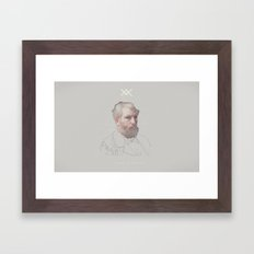The Science Of Self Reflection Framed Art Print