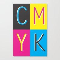 CMKY Canvas Print