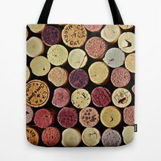Wine Tops Tote Bag