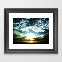 After My Grandfather Pas… Framed Art Print