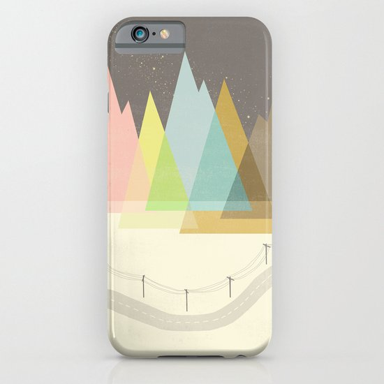 Highway Under Stars iPhone & iPod Case