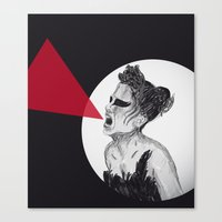 Black Swan IV Canvas Print