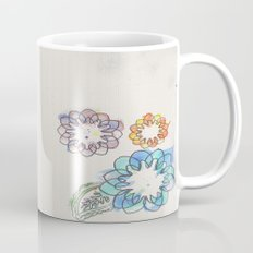 Water-colour Flowers Mug