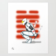 Robot Series - Storm Shadow Model Art Print
