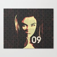 Fashion Woman Canvas Print