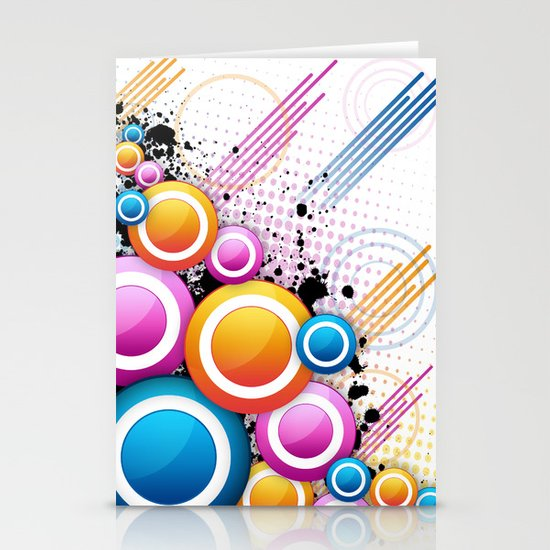 Get Ur Freak On... Stationery Card