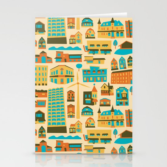Bay View Stationery Card