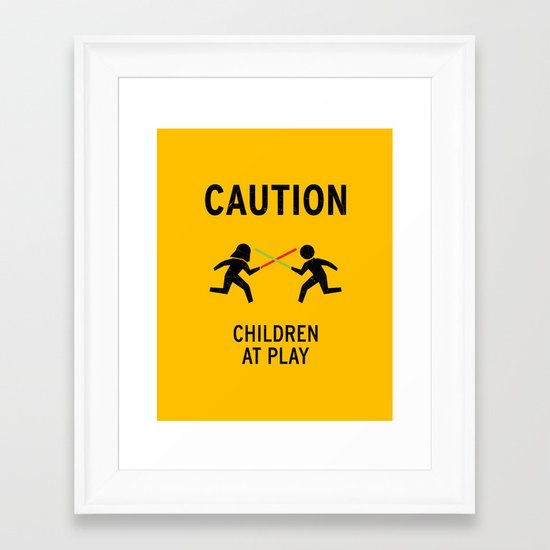 Children at Play Framed Art Print