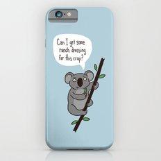 Koala Question Slim Case iPhone 6s