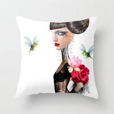 Eileen sailing Throw Pillow