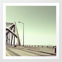 If We Left This Town, We… Art Print