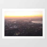 View From Above  Art Print