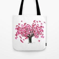 Cherry Tree Tote Bag