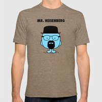 Heisenberg Mens Fitted Tee Tri-Coffee SMALL