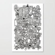 Schritttempo Canvas Print