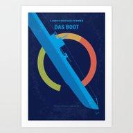 Art Print featuring No553 My Das Boot Minima… by Chungkong