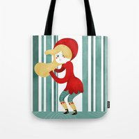 Red Riding Hood Tote Bag