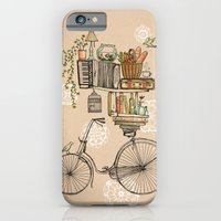 bike iPhone & iPod Cases featuring Pleasant Balance by florever
