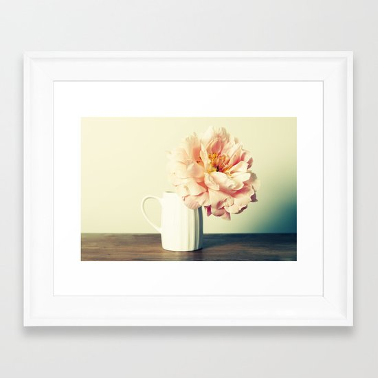 Sitting Pretty Framed Art Print
