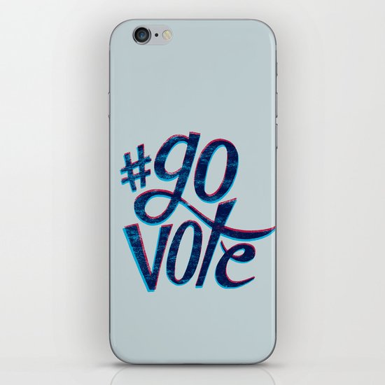 #GoVote iPhone & iPod Skin
