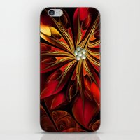 Christmas Flower iPhone & iPod Skin