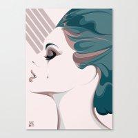 TEAR/001 Canvas Print
