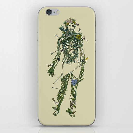 Wound Man iPhone & iPod Skin