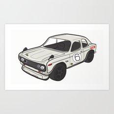 Datsun 501 Art Print