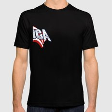 'MERICA SMALL Black Mens Fitted Tee