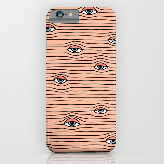 PEEPING TOM iPhone & iPod Case