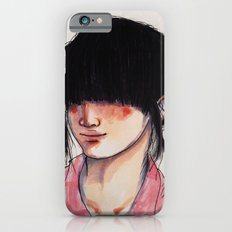 Girl with the Fringe iPhone 6 Slim Case