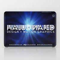 Halucinated Design + Mot… iPad Case