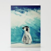 Baby Penguin Stationery Cards