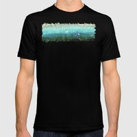 California Coast Mens Fitted Tee Black SMALL