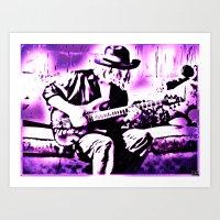 Rock N' Roll Gypsy Art Print