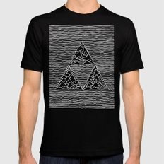 Triforce // Joy Division Mens Fitted Tee Black SMALL