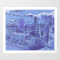 Brooklyn View Art Print