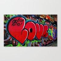 Love Art Canvas Print