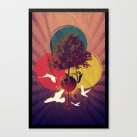 Wondertree Canvas Print