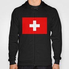 Flag of Switzerland - Authentic 2:3 scale version Hoody
