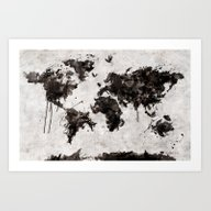 Art Print featuring Wild World by Diego Tirigall