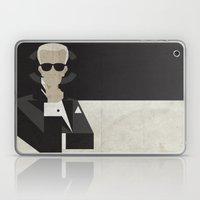 Karl Laptop & iPad Skin