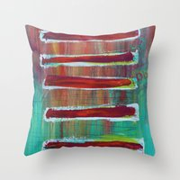 Sections Throw Pillow