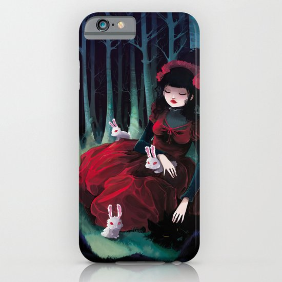 Asleep iPhone & iPod Case
