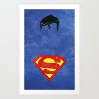 Supes Art Print