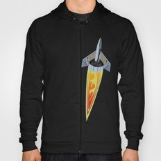 Rocket with Pinstripes Hoody